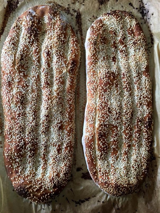 לחם פרסי – נאן איברברי