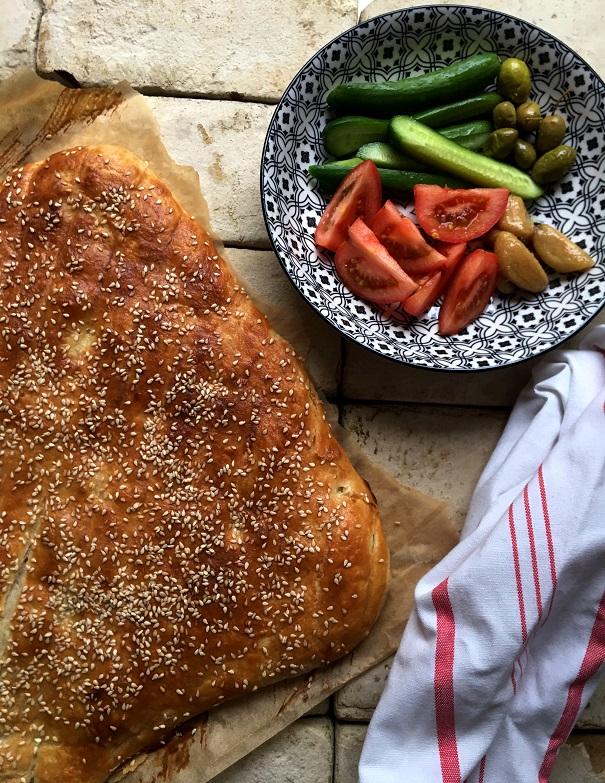 מאפה שכבות טורקי עםגבינה