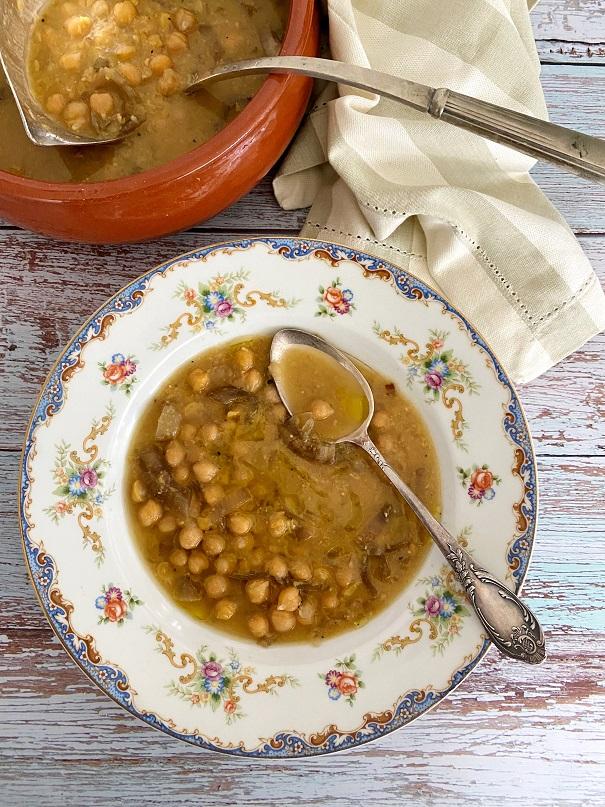 מרק חומוס יווני טעים מאוד ב-10 דקותעבודה
